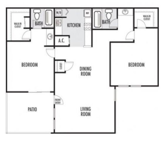 Joule Apartment Homes - Floorplan - B3