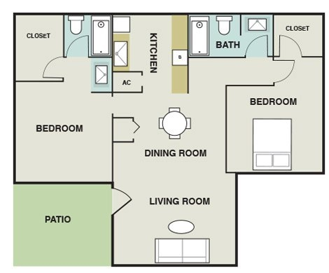 Joule Apartment Homes - Floorplan - B1
