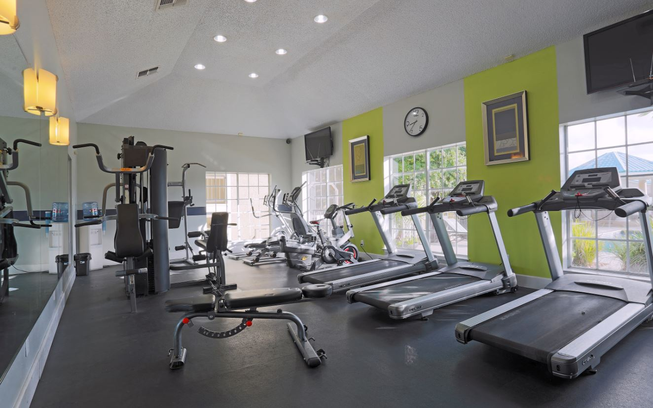 Fitness Center at Joule Apartments in San Antonio, Texas