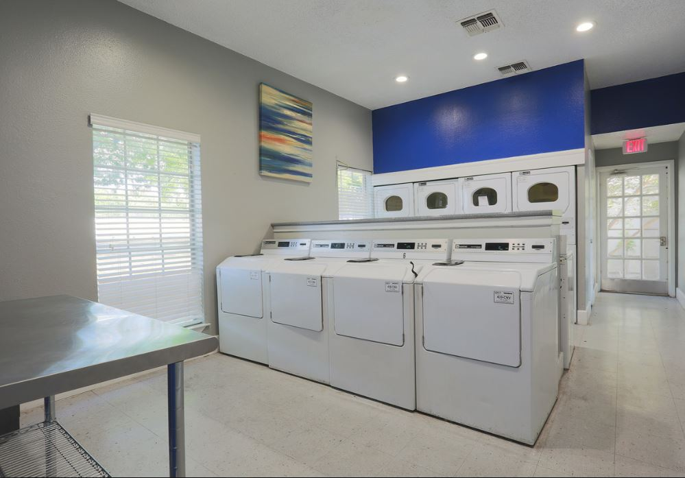 Laundry Facility at Joule Apartments in San Antonio, Texas