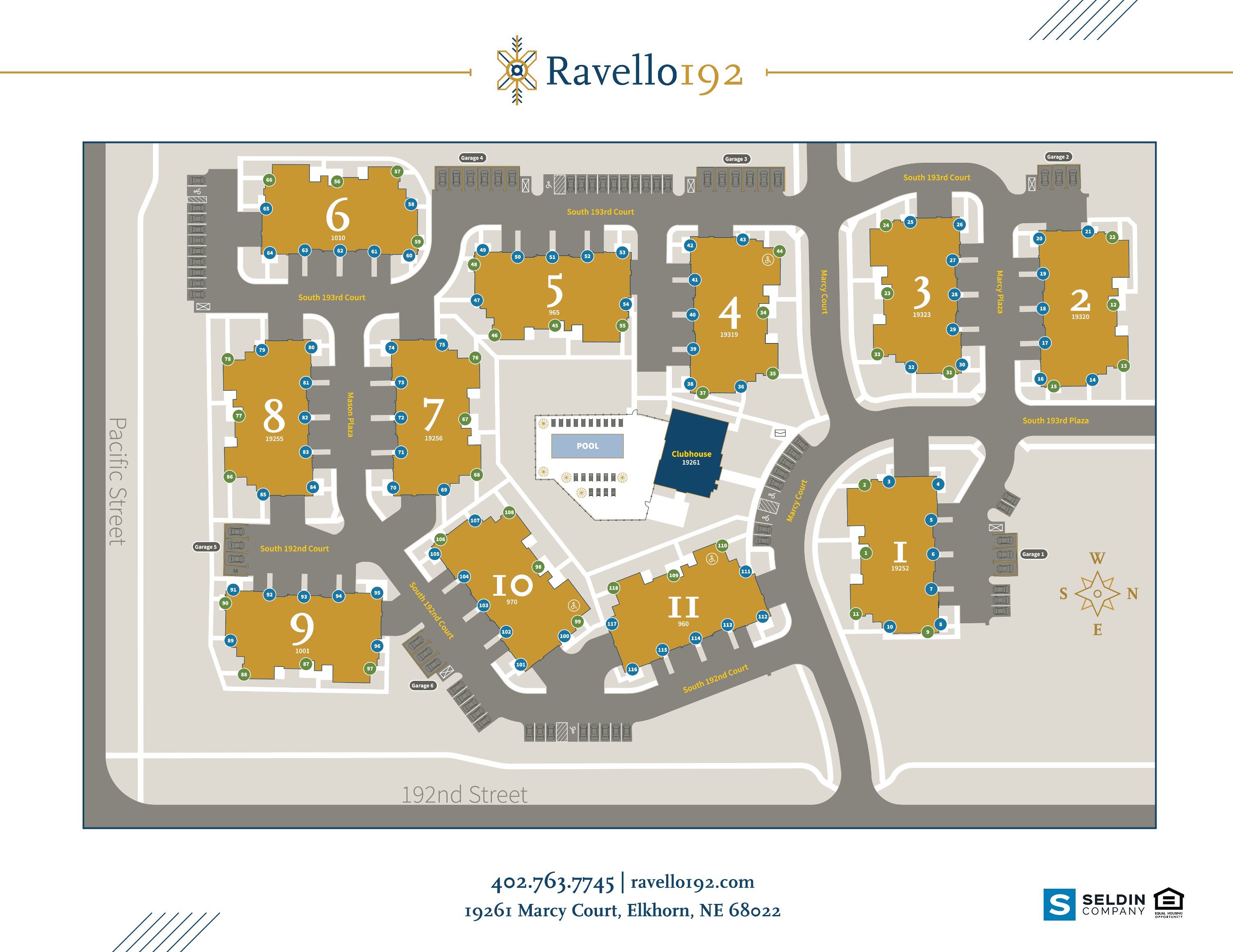 Ravello 192 Site Plan