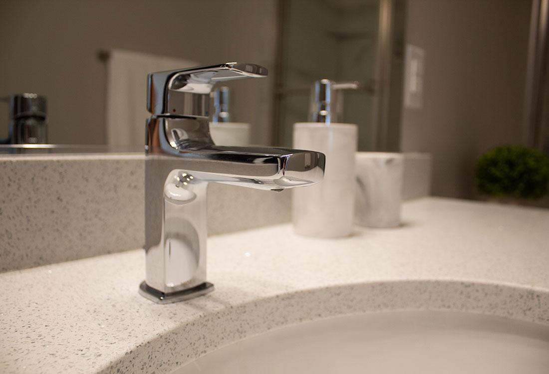 Upscale Bathrooms at Ravello 192 in Elkhorn, Nebraska