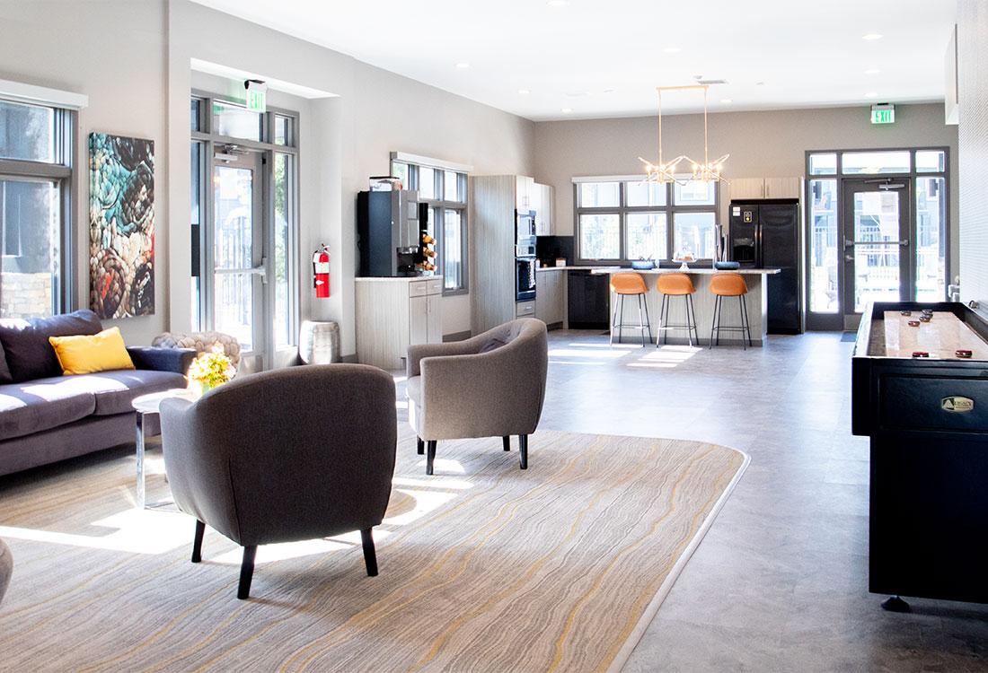 Luxury Clubhouse at Ravello 192 in Elkhorn, Nebraska