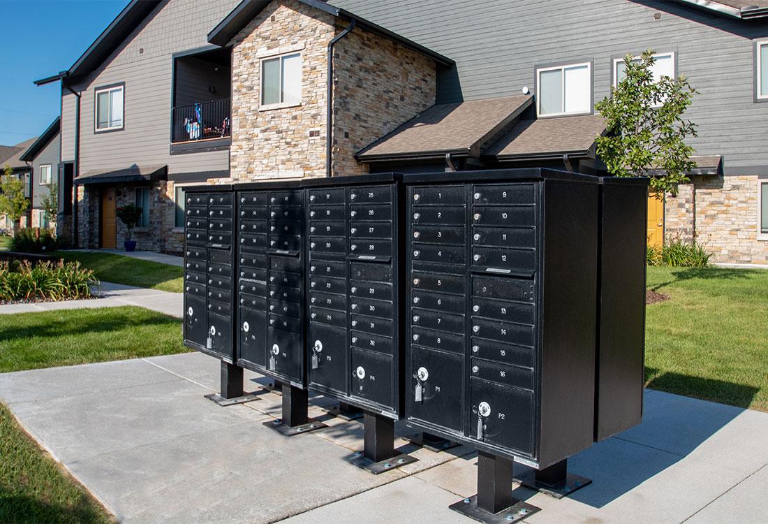 Community Mail Station at Ravello 192 in Elkhorn, Nebraska