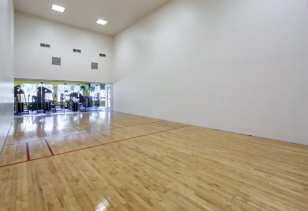 Indoor Racquetball at Reflections of Boca Del Mar Apartments in Boca Raton, Florida