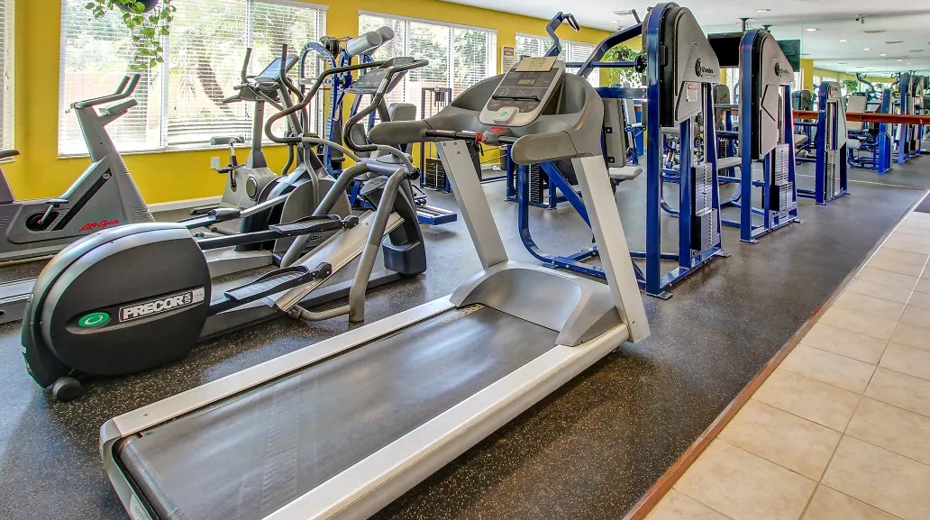 Cardio Machines at Reflections of Boca Del Mar Apartments in Boca Raton, Florida