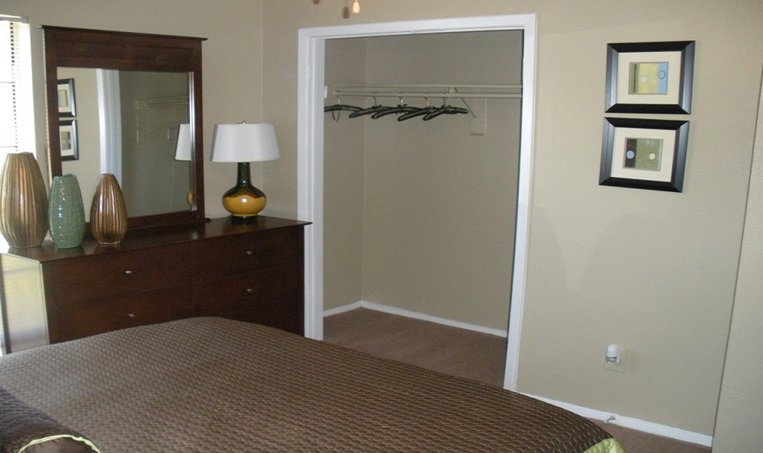 Expansive Closet Space at Regal Crossing Apartments in Dallas, Texas