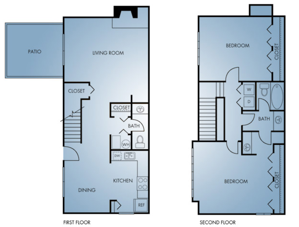 Regatta Apartments - Floorplan - TH1