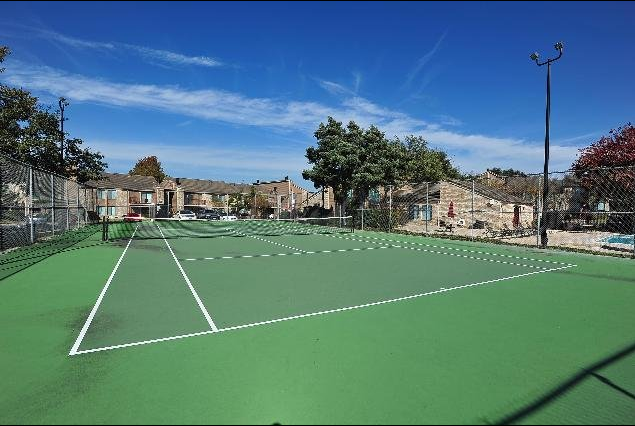 Tennis Court at Regatta Apartments in San Antonio, TX