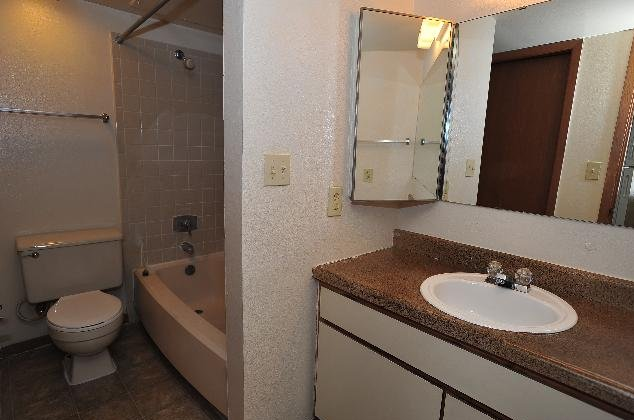 Single Vanity Bathroom at Regatta Apartments in San Antonio, TX