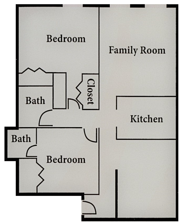 Floorplan - Plan B-2 image