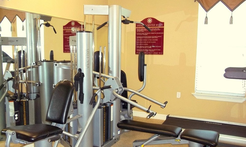 On-Site Fitness Center at Reserve at Jefferson Crossing Apartments in Baton Rouge, LA
