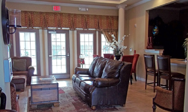Living Room Interior of the Reserve at Jefferson Crossing Apartments in Baton Rouge, LA
