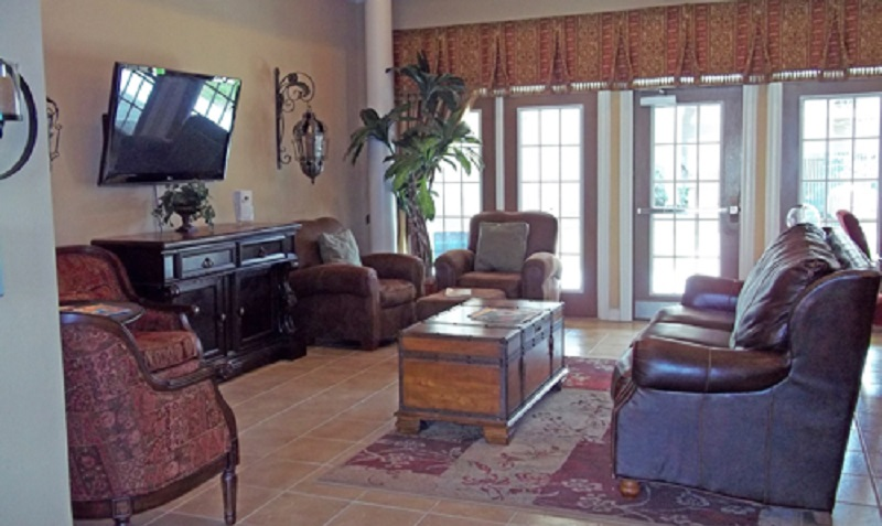 Living Area at the Reserve at Jefferson Crossing Apartments in Baton Rouge, LA