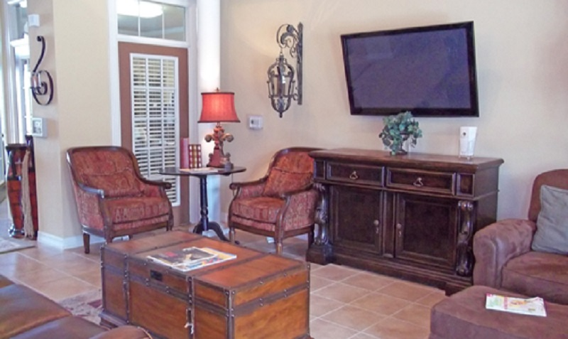 Entertainment Areas at Reserve at Jefferson Crossing Apartments in Baton Rouge, LA