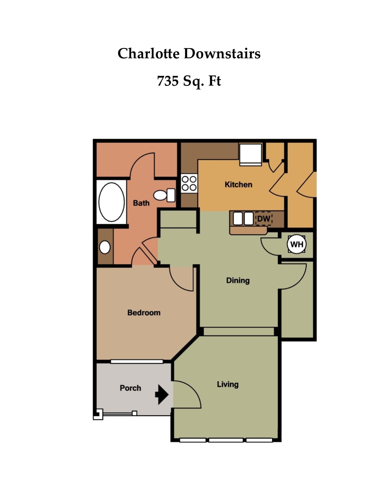 Floorplan - The Charlotte image