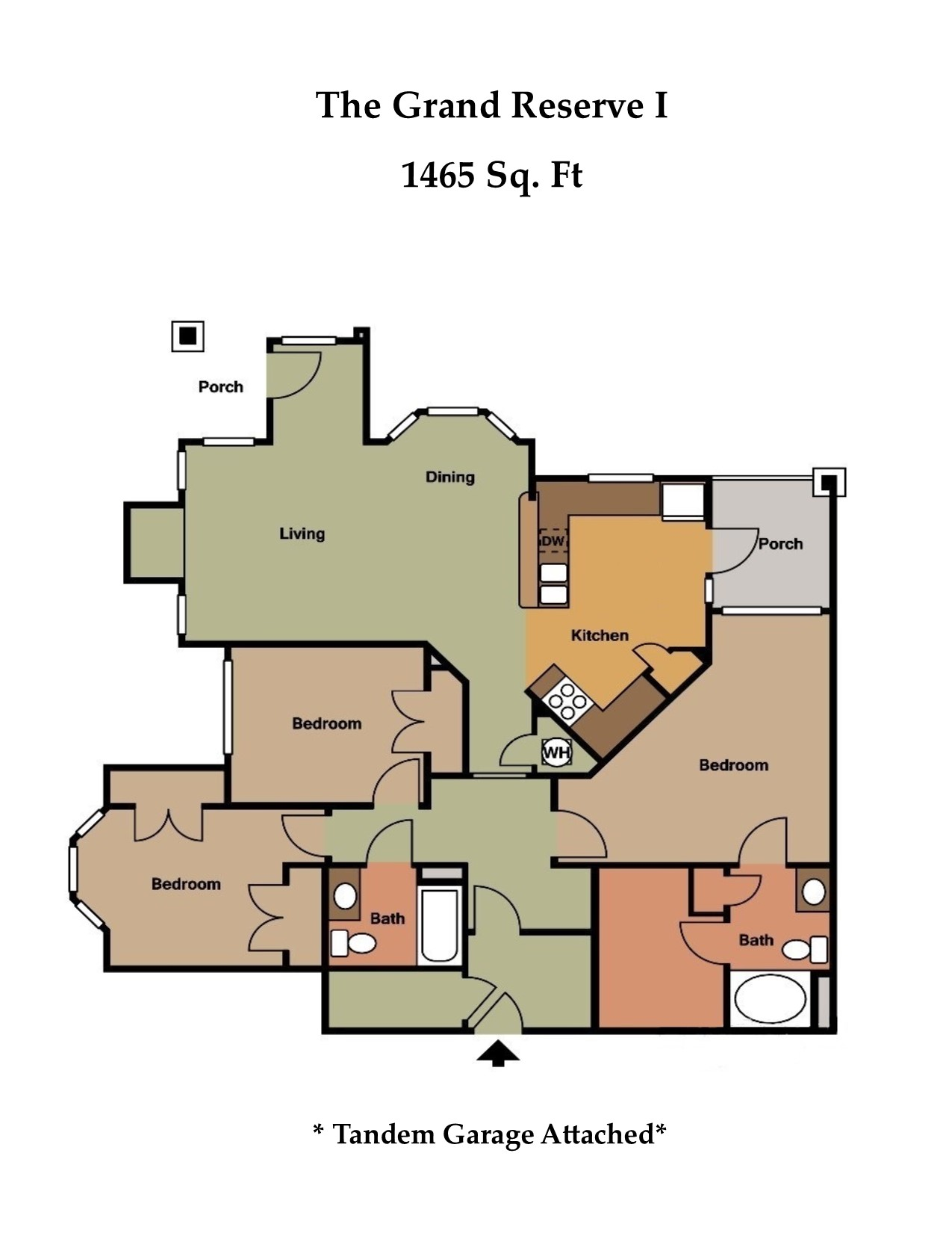 Floorplan - The Grand Reserve I image