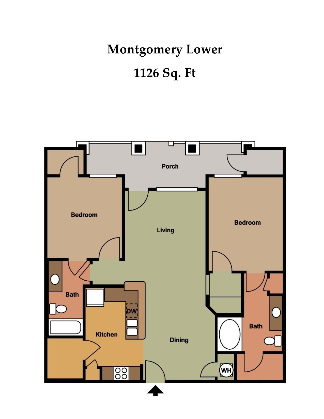 Floorplan - The Montgomery image
