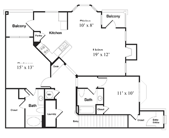 Reserve At Steele Crossing - Floorplan - The Alexandria