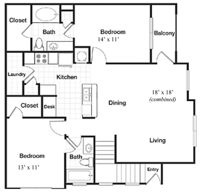 Reserve At Steele Crossing - Floorplan - The Charleston