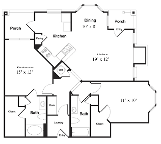 Reserve At Steele Crossing - Floorplan - The Madison