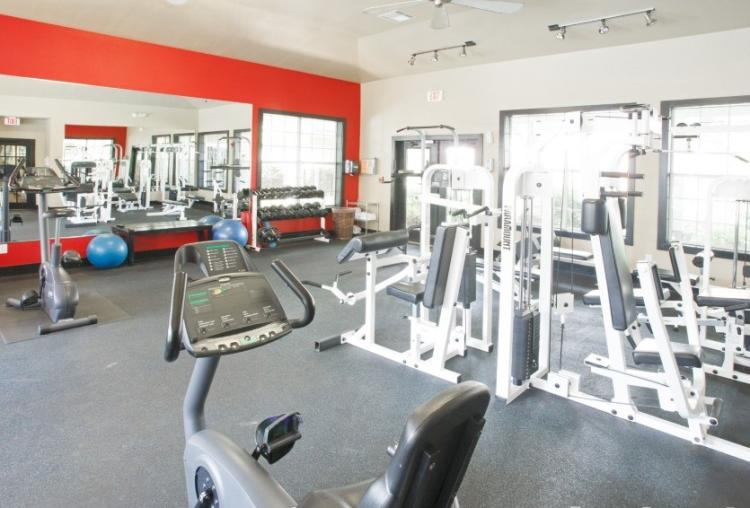 Fitness Center at the Reserve At Steele Crossing in Fayetteville, AR