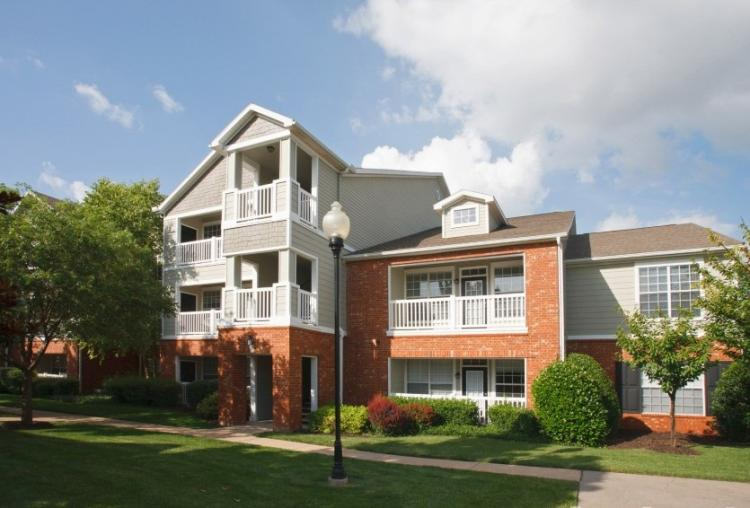 Front View at the Reserve At Steele Crossing in Fayetteville, AR