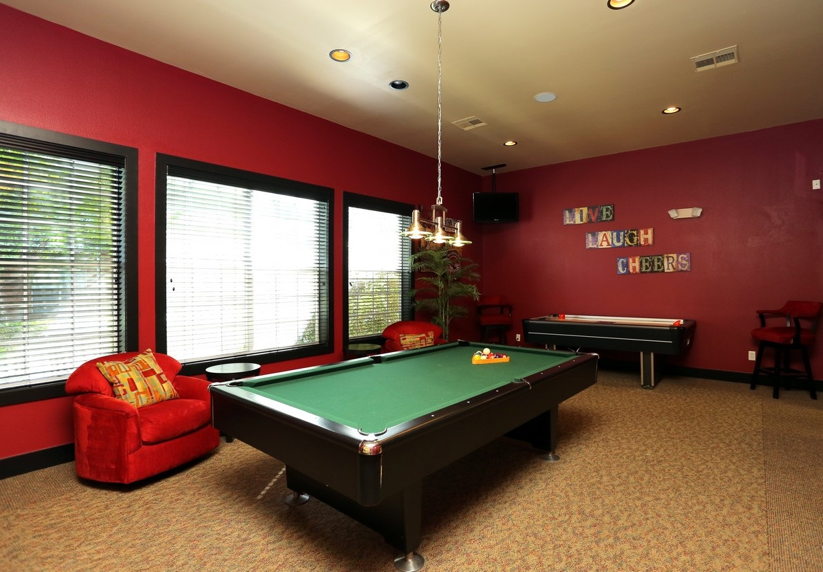 Game Room at the Reserve At Steele Crossing in Fayetteville, AR