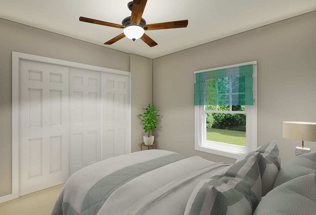 Spacious Bedrooms with Storage at the Residence of Arbor Grove - Apartments in Arlington, TX