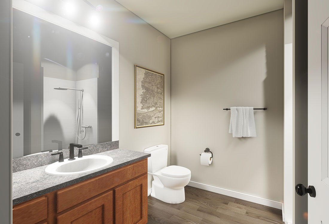 Spacious Bathrooms at the Residence of Arbor Grove - Apartments in Arlington, TX
