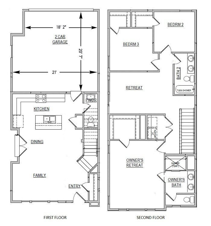 Floorplan - Oak image