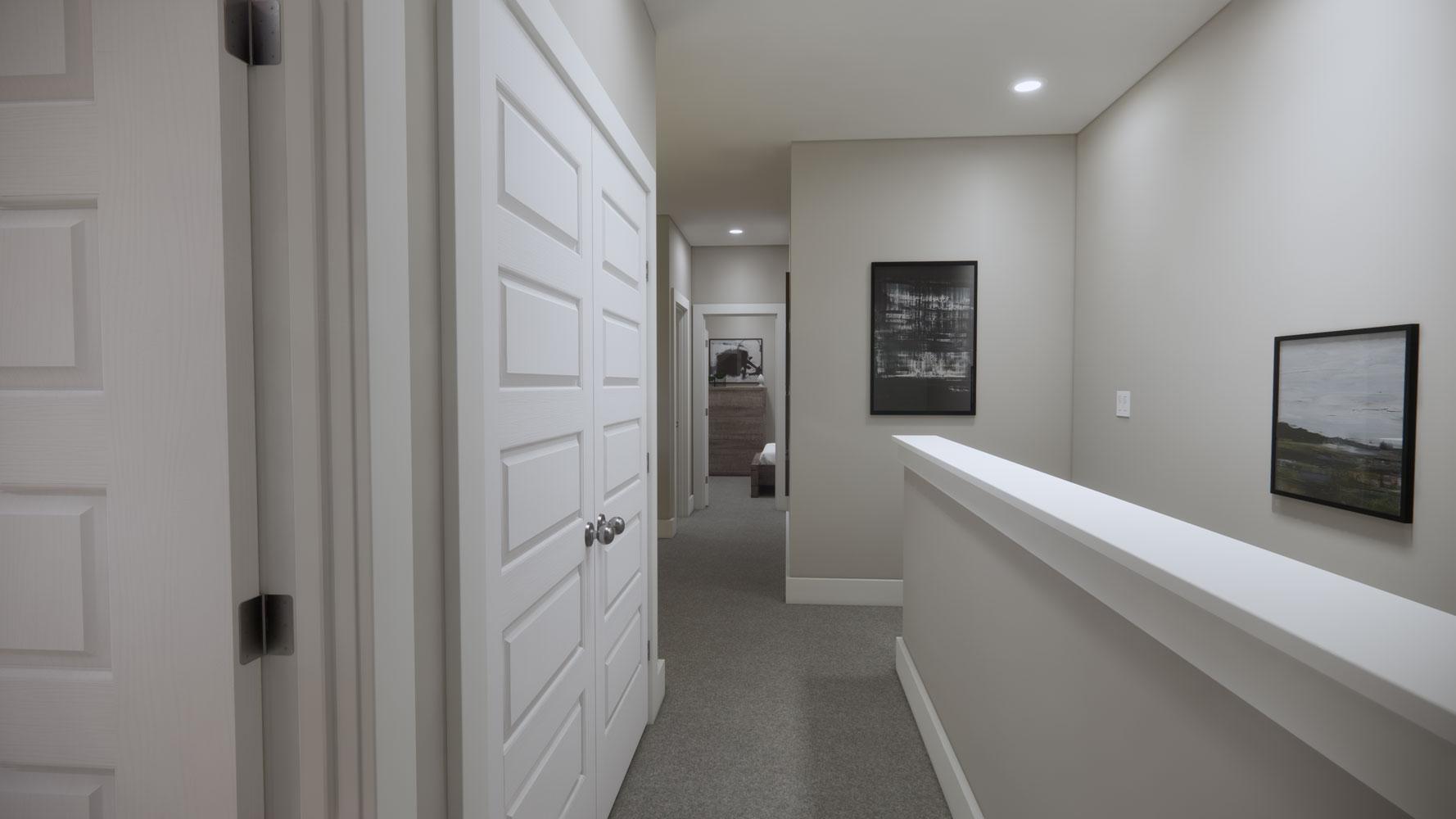 Large Hallways at Echelon at Reverchon Bluffs in Dallas, Texas