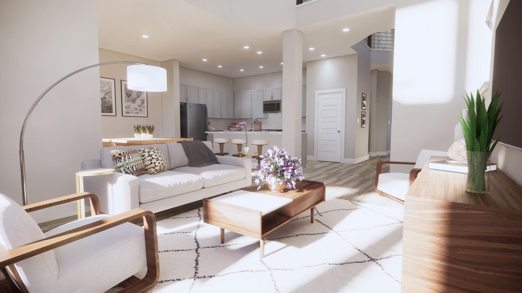 Dallas Homes for Rent at Echelon at Reverchon Bluffs in Dallas, Texas