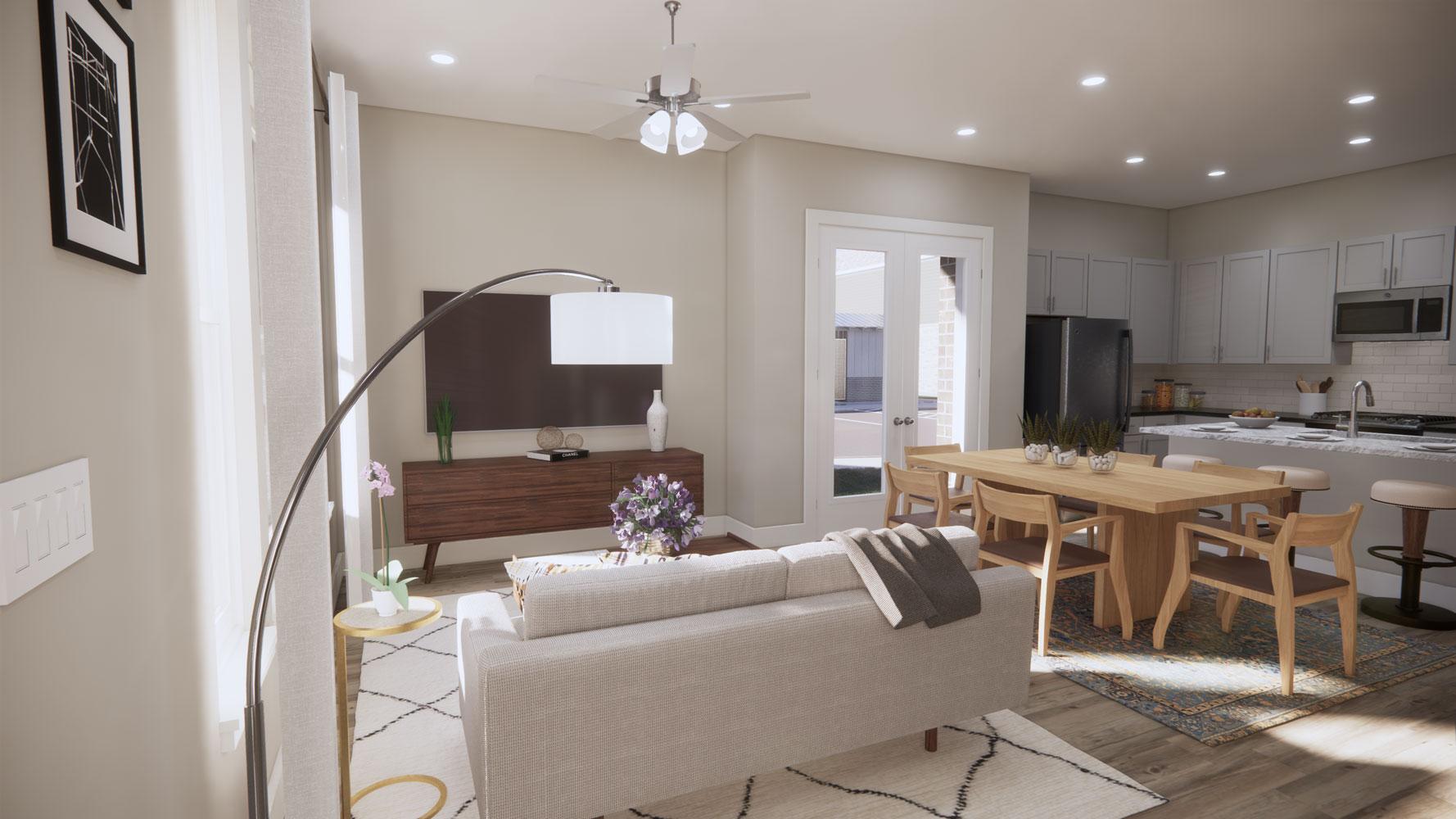 Modern Floor Plans at Echelon at Reverchon Bluffs in Dallas, Texas