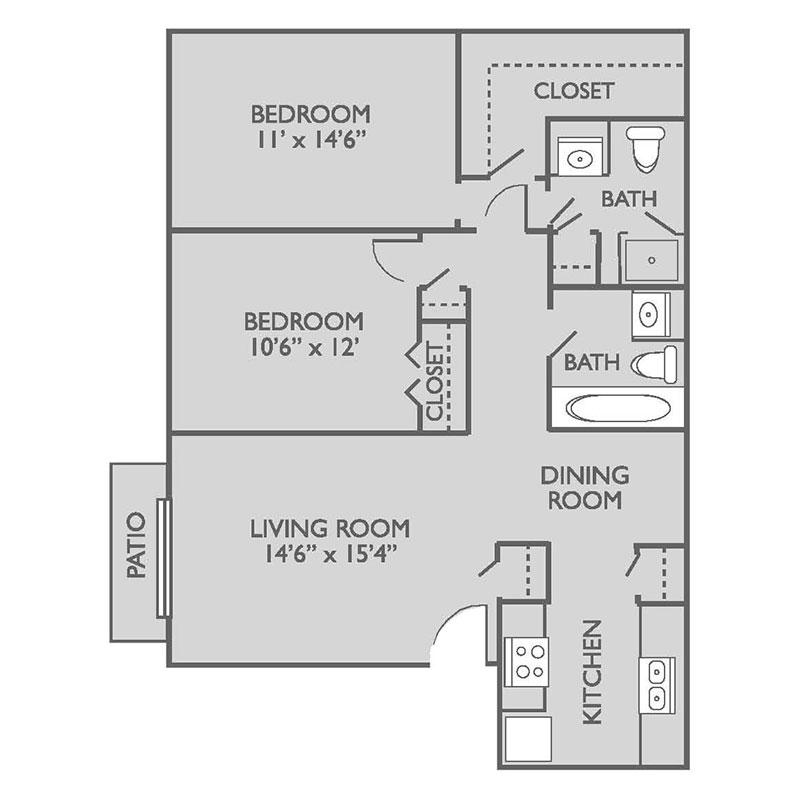Floorplan - Rawhide image