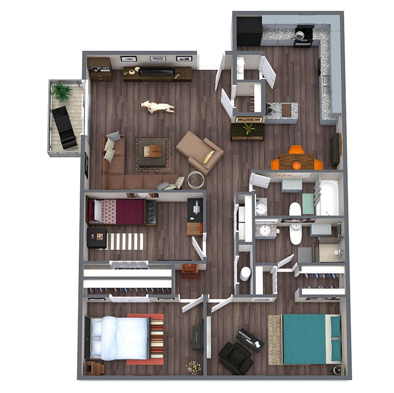 Floorplan - Rangler image