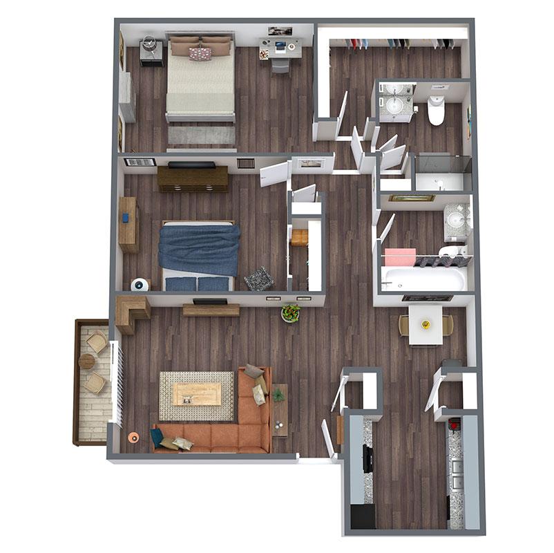 Riatta Ranch - Floorplan - Rawhide