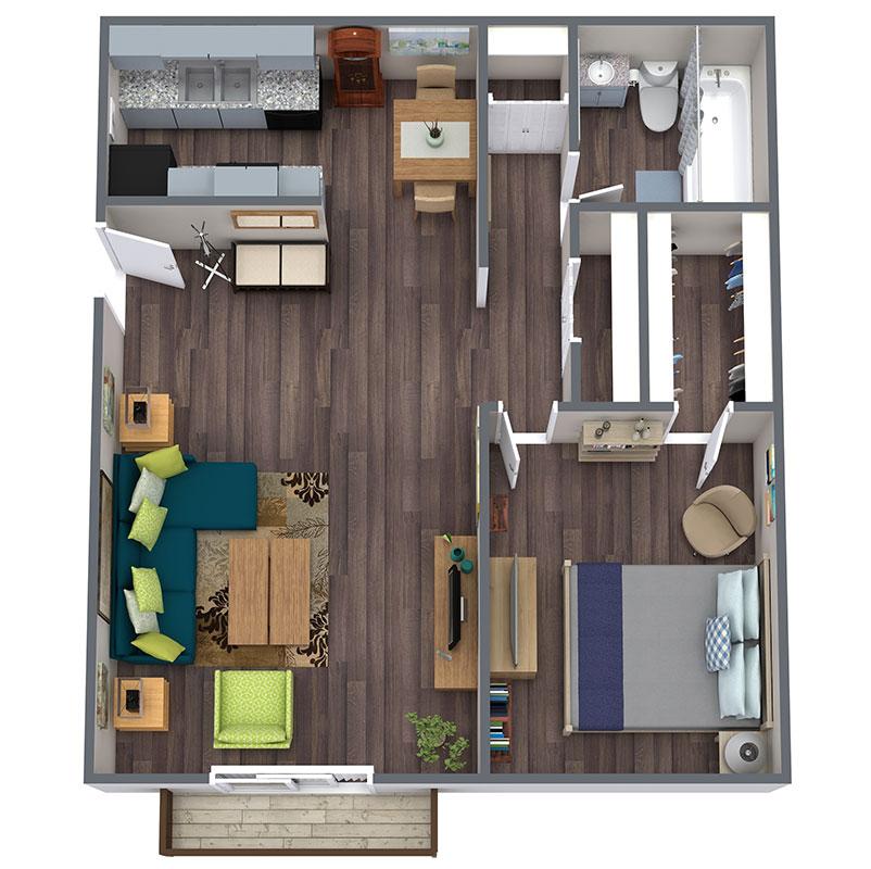 Floorplan - Rustler image