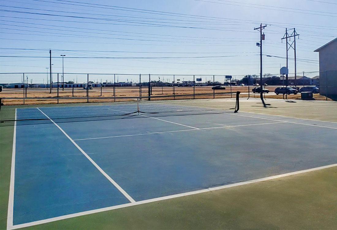 Tennis Court at Riatta Ranch Apartments in Abilene, TX