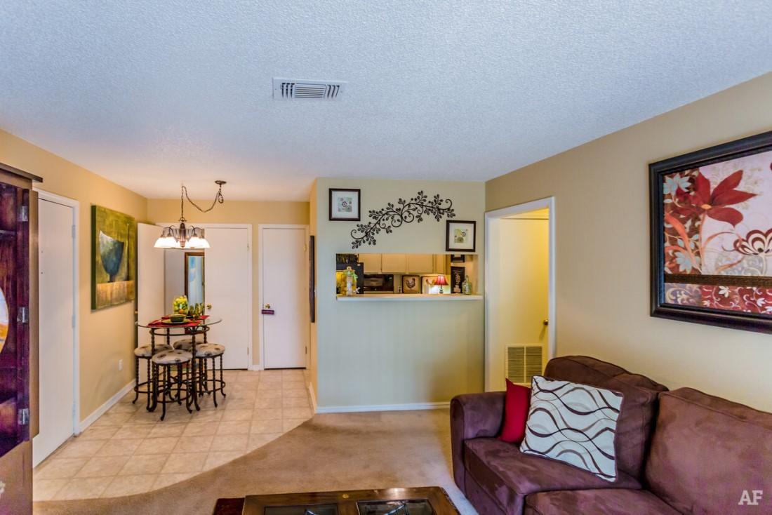 One-Bedroom Floor Plans at Ridgewood Apartments in Hot Springs, Arkansas