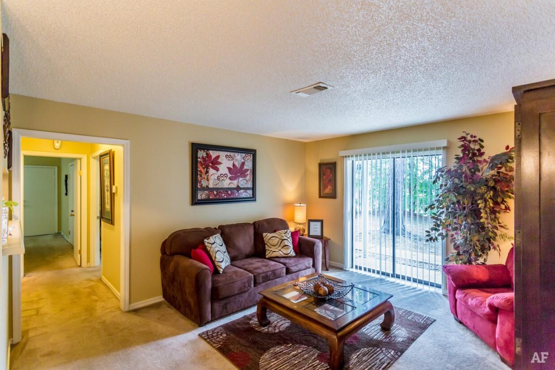 Two-Bedroom Floor Plans at Ridgewood Apartments in Hot Springs, Arkansas