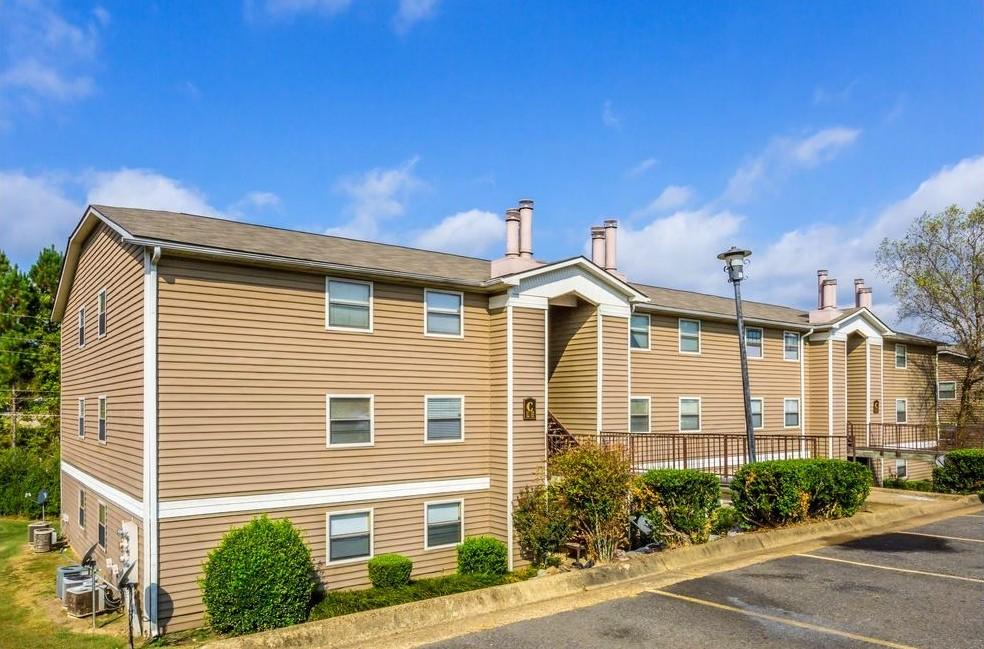 Ample Parking at Ridgewood Apartments in Hot Springs, Arkansas