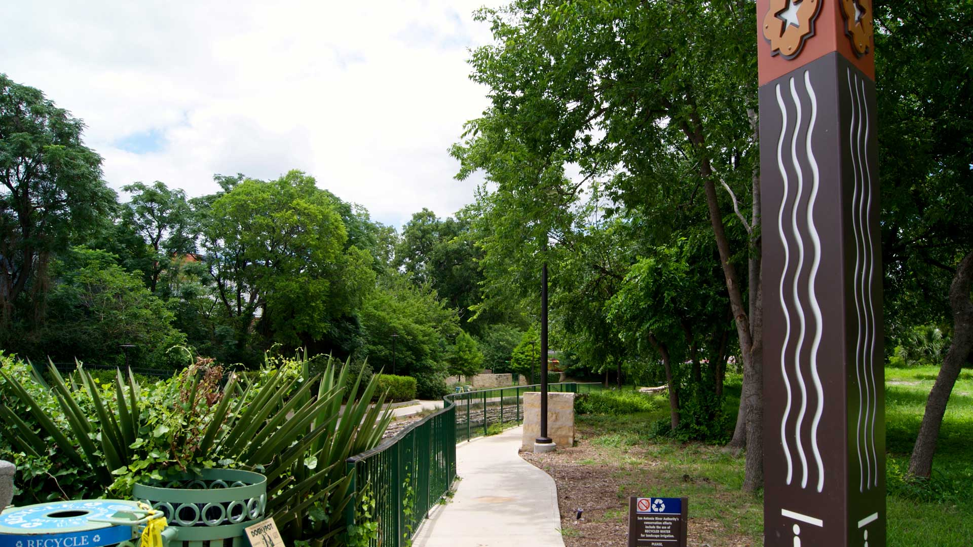Access to Nearby Parks at Rivera Apartments in San Antonio, Texas