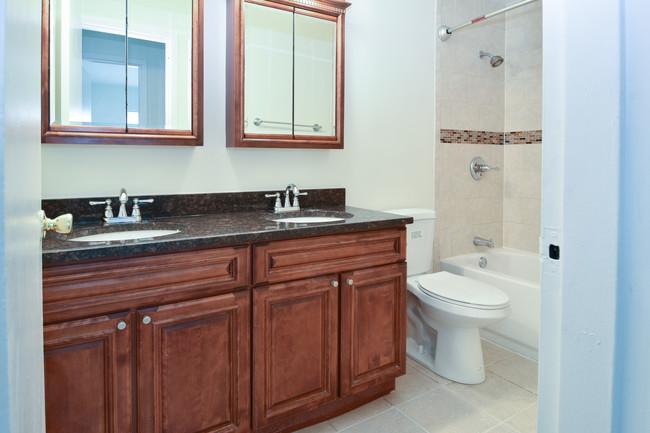 Bathroom Vanity at River Edge at Nyack Apartments in Nyack, NY