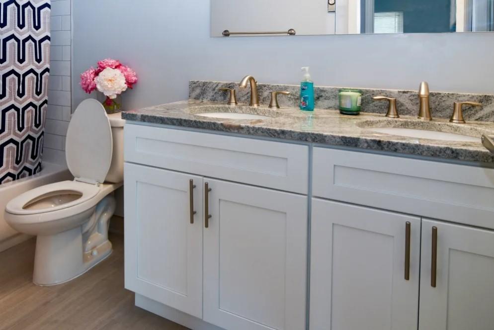 Double Sinks at River Edge at Nyack Apartments in Nyack, NY