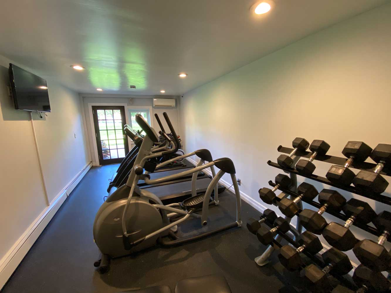 On Demand Fitness Center at River Edge at Nyack Apartments in Nyack, NY