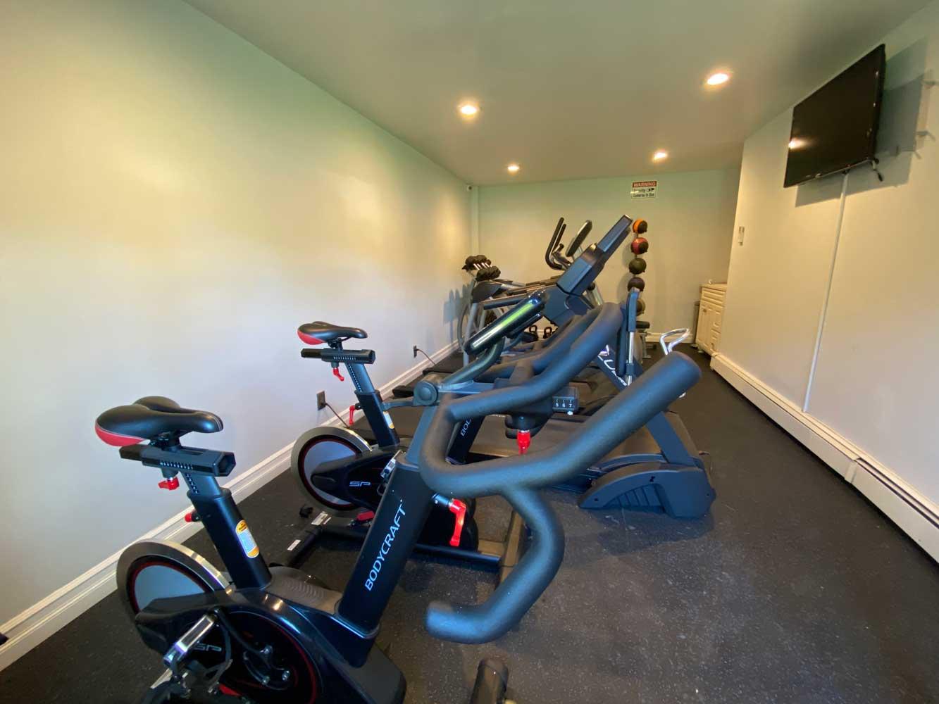 Fitness Center at River Edge at Nyack Apartments in Nyack, NY