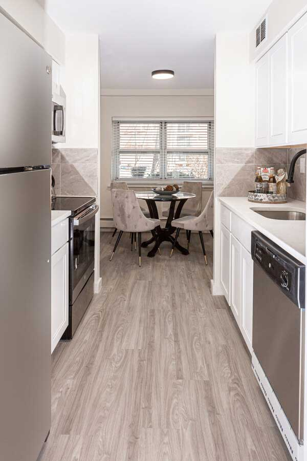 Stainless Steel Appliances at River Edge at Nyack Apartments in Nyack, NY