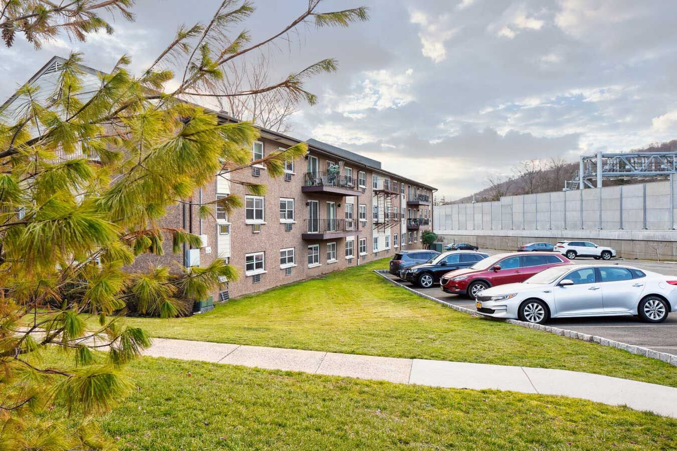 Parking Available at River Edge at Nyack Apartments in Nyack, NY