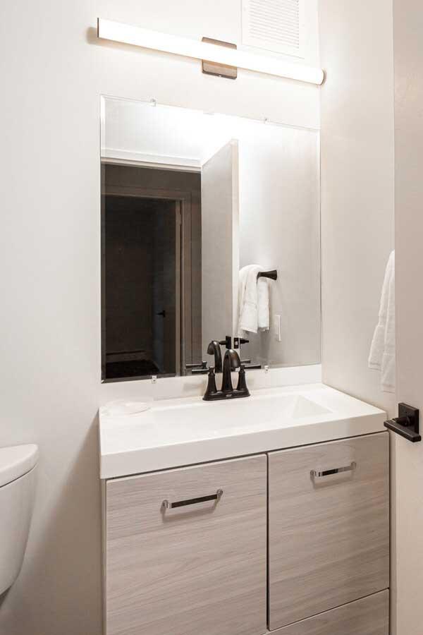 Bathroom at River Edge at Nyack Apartments in Nyack, NY